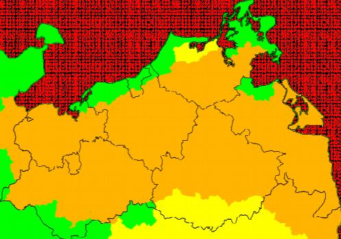 Aktuelle Unwetterwarnungen Mecklenburg-Vorpommern