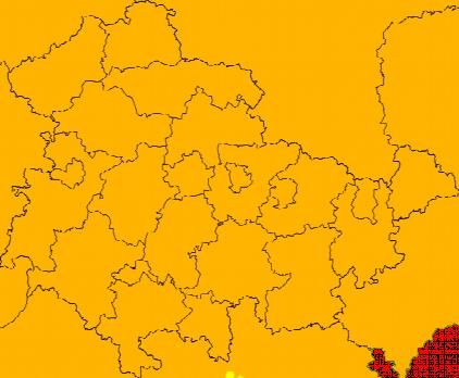 Aktuelle Unwetterwarnungen Thüringen