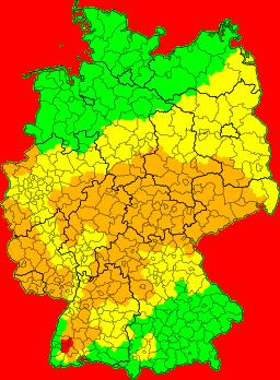 Unwetterradar Hessen
